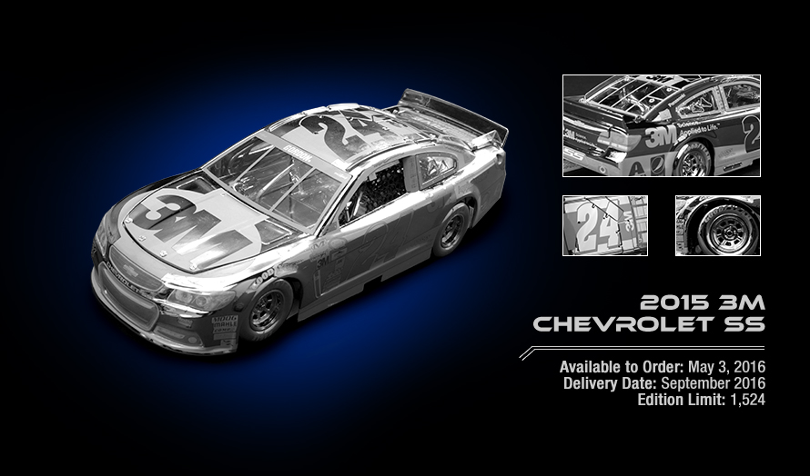 2015 3M Chevrolet SS - Available to Order: May 3, 2016
