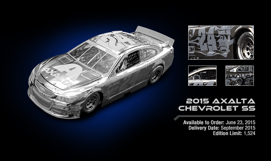 2015 Axalta Chevrolet SS - Available to Order: June 23, 2015