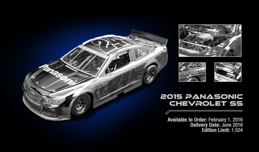 2015 Panasonic Chevrolet SS - Available to Order: February 1, 2016