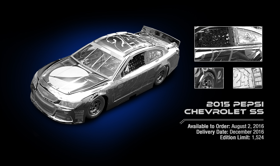 2015 Pepsi Chevrolet SS - Available to Order: August 2, 2016